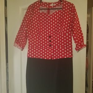 Dresses & Skirts - Red top dress